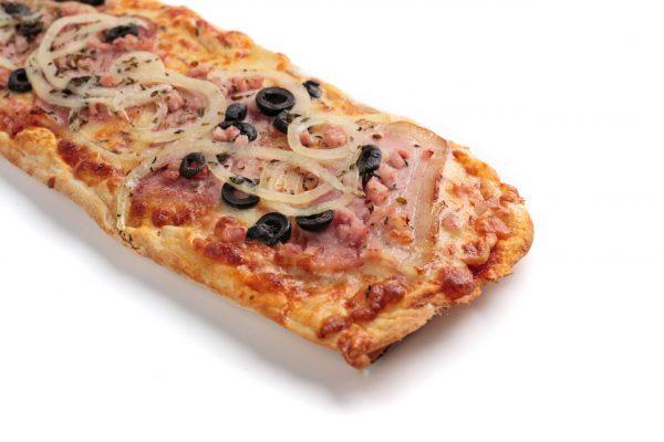 Pizza lunga bacó | di Paolo